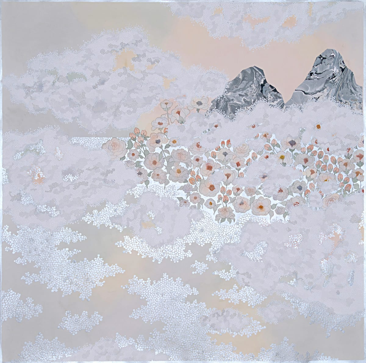 "Crystal Liu, the fog, ""embrace"", 2019"
