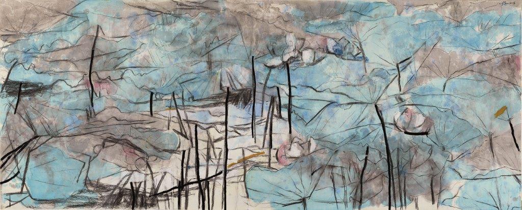 Wang Gongyi 王公懿, Lotus 荷, 2016
