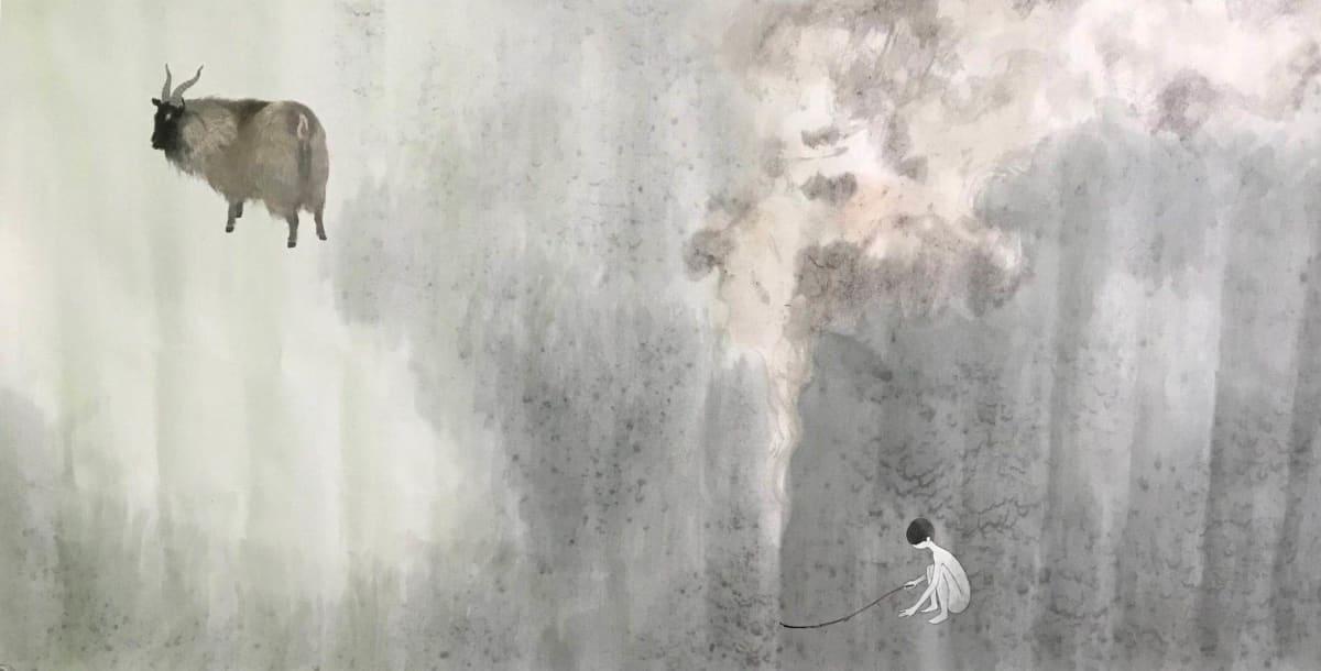 Lin Yusi 林于思, Shepherd in the Wilderness, 2014