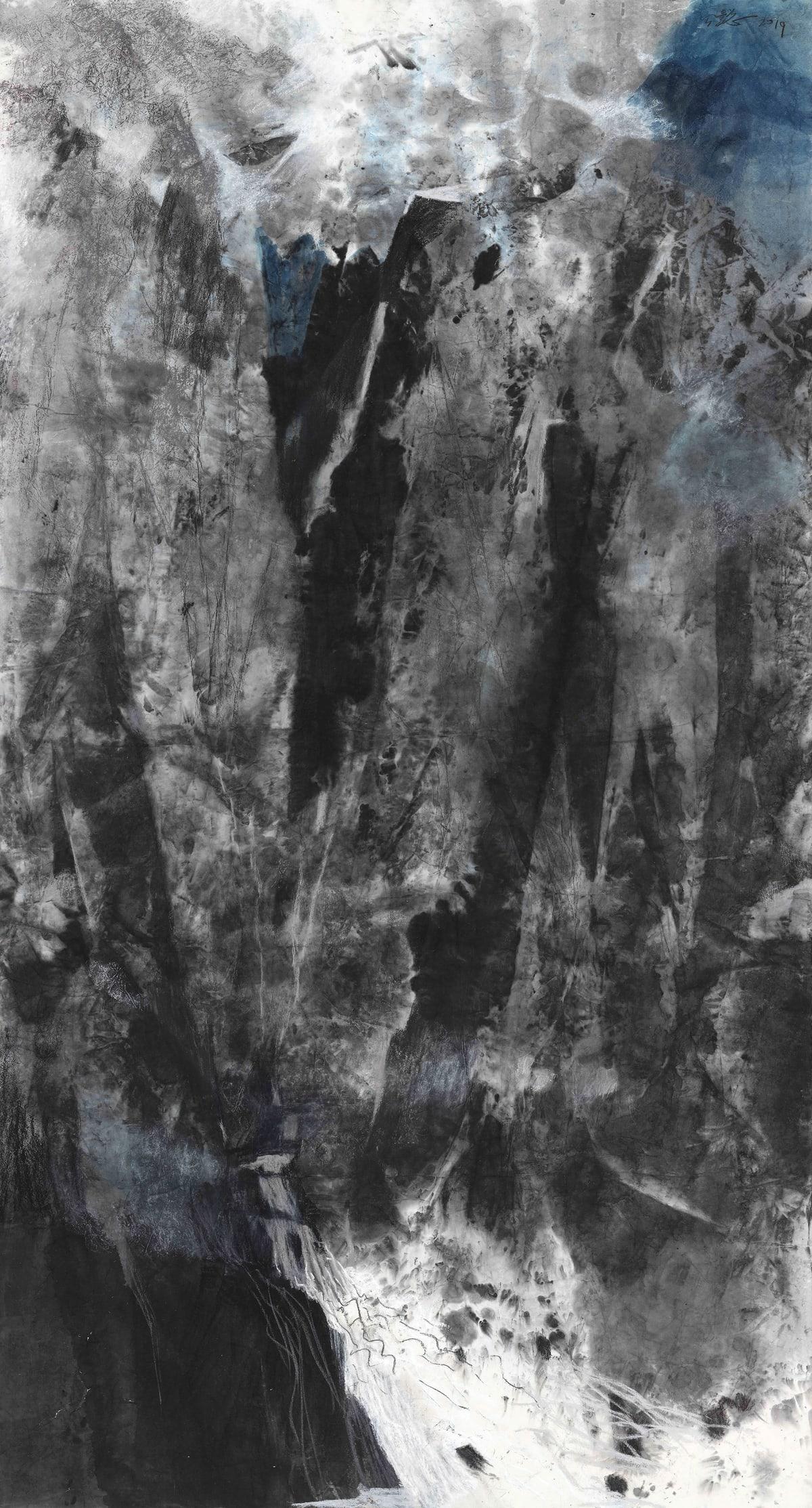 Wang Gongyi 王公懿, Follow the Creek No.2 緣溪行之二, 2019