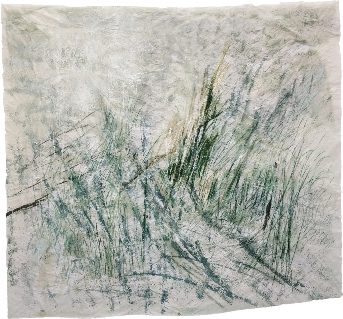 Wang Gongyi 王公懿, Leaves of Grass No.5 草葉集之五, 2019