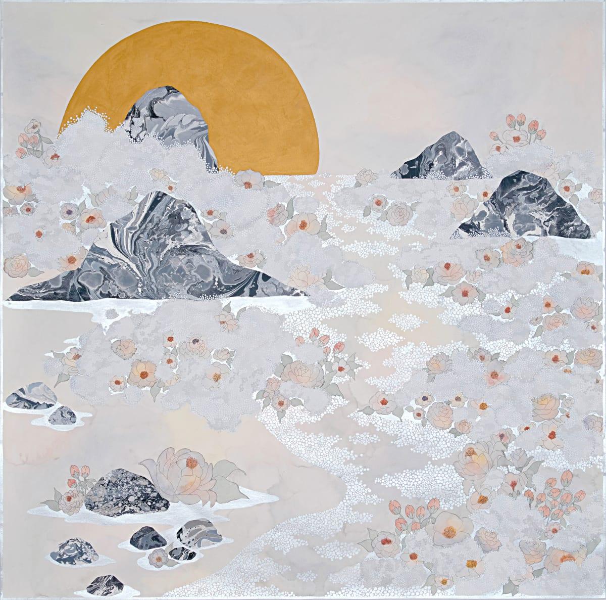 "Crystal Liu, the fog, ""in waves"", 2019"