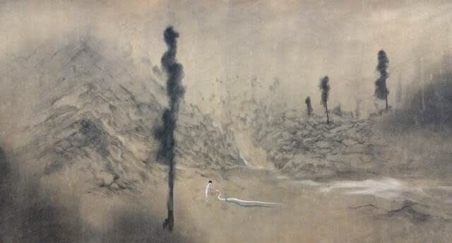 Lin Yusi 林于思, It Has Been a Long Time My Wife, 2013