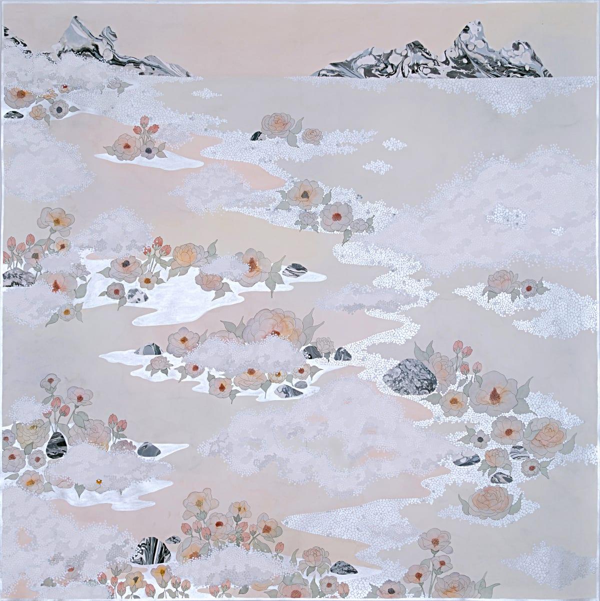 "Crystal Liu, the fog, ""like the lulling waves"", 2019"