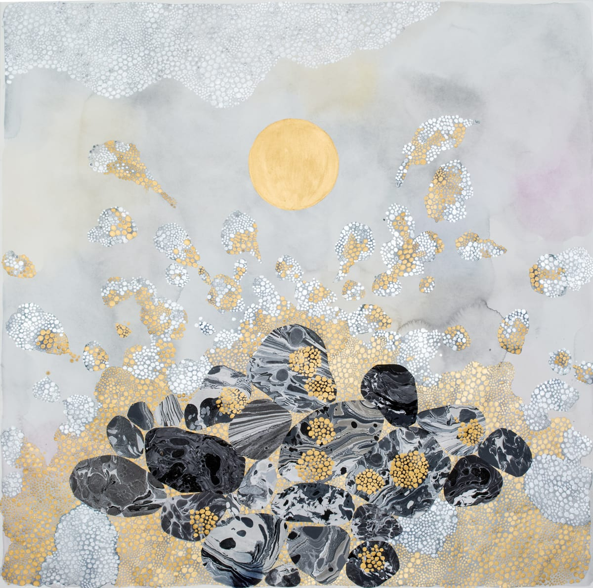 "Crystal Liu, the moon and the tides, ""when you're close"", 2017"