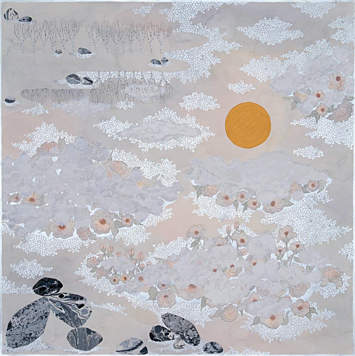 """Crystal Liu, the fog, """"into the night, II"""", 2019"""