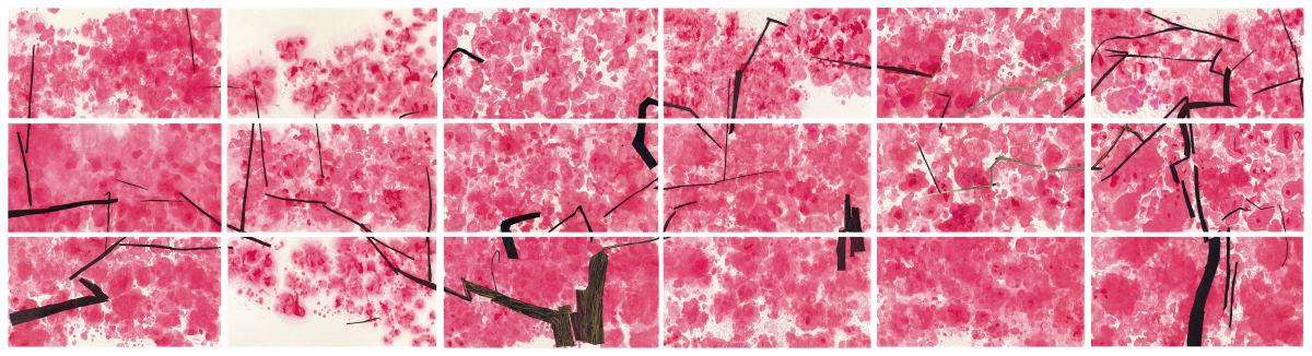 Wang Gongyi 王公懿, Peach Blossom 桃, 2016