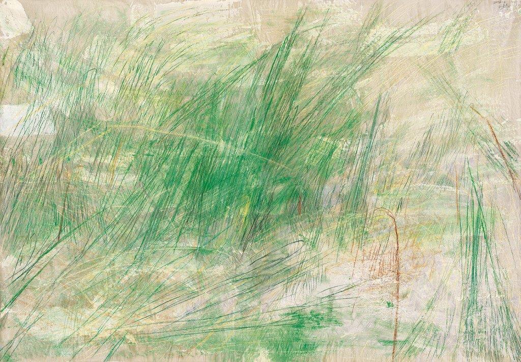 Wang Gongyi 王公懿, Grass 草, 2016