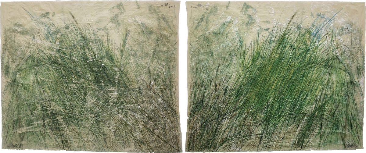 Wang Gongyi 王公懿, Leaves of Grass No.4 草葉集之四, 2019