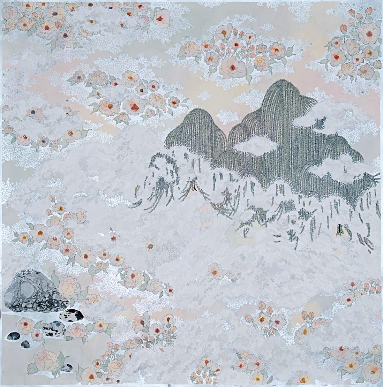 "Crystal Liu, the fog, ""wash over me"", 2019"