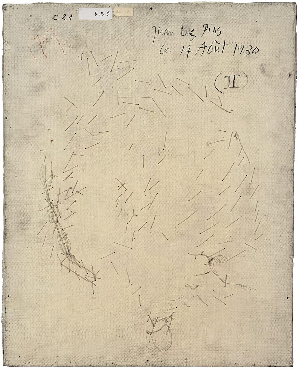 PHILIPPE GRONON, Verso n°55, Visage aux deux profils, par Pablo Picasso, collection Musée national Picasso-Paris