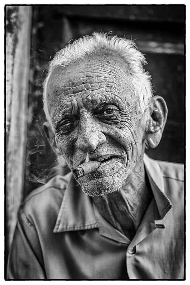 Peter Aitchison, Cigar Man, 2016
