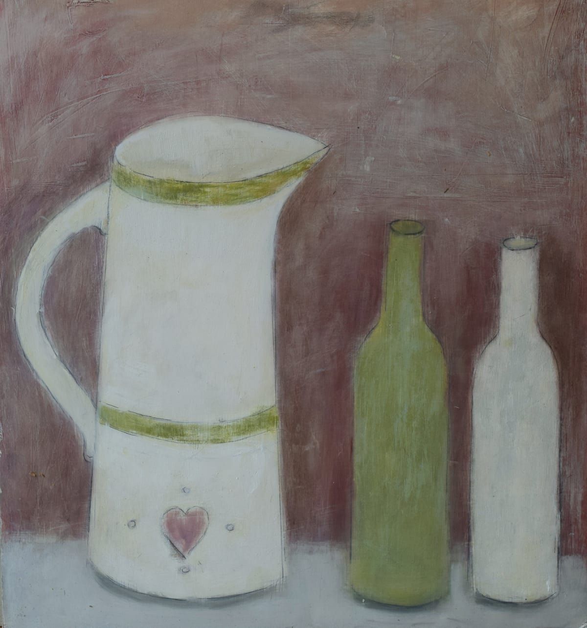Joyce Gunn Cairns MBE, A Jug and Two Bottles