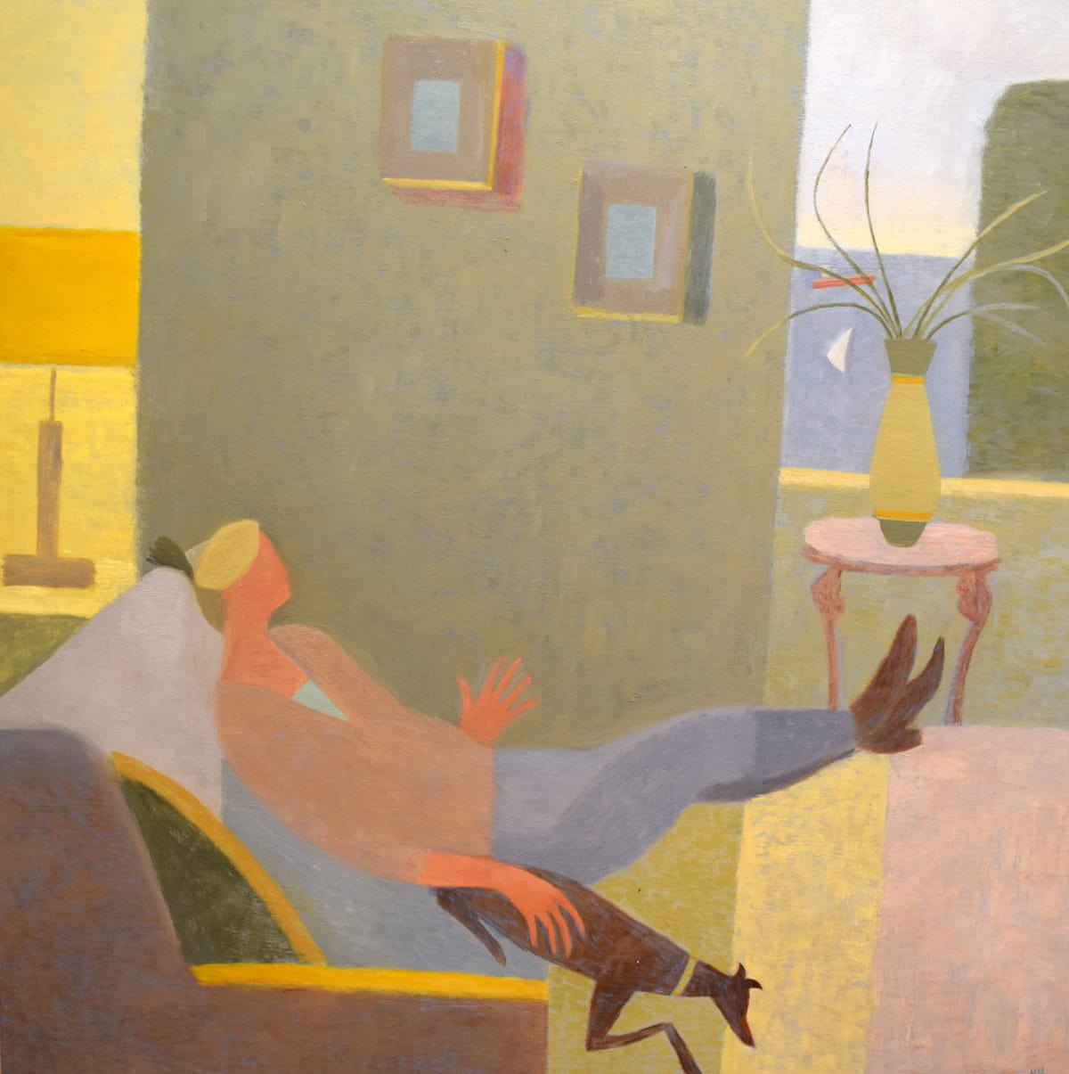 Mary Mabbutt, Another Afternoon in Falmouth, 2014
