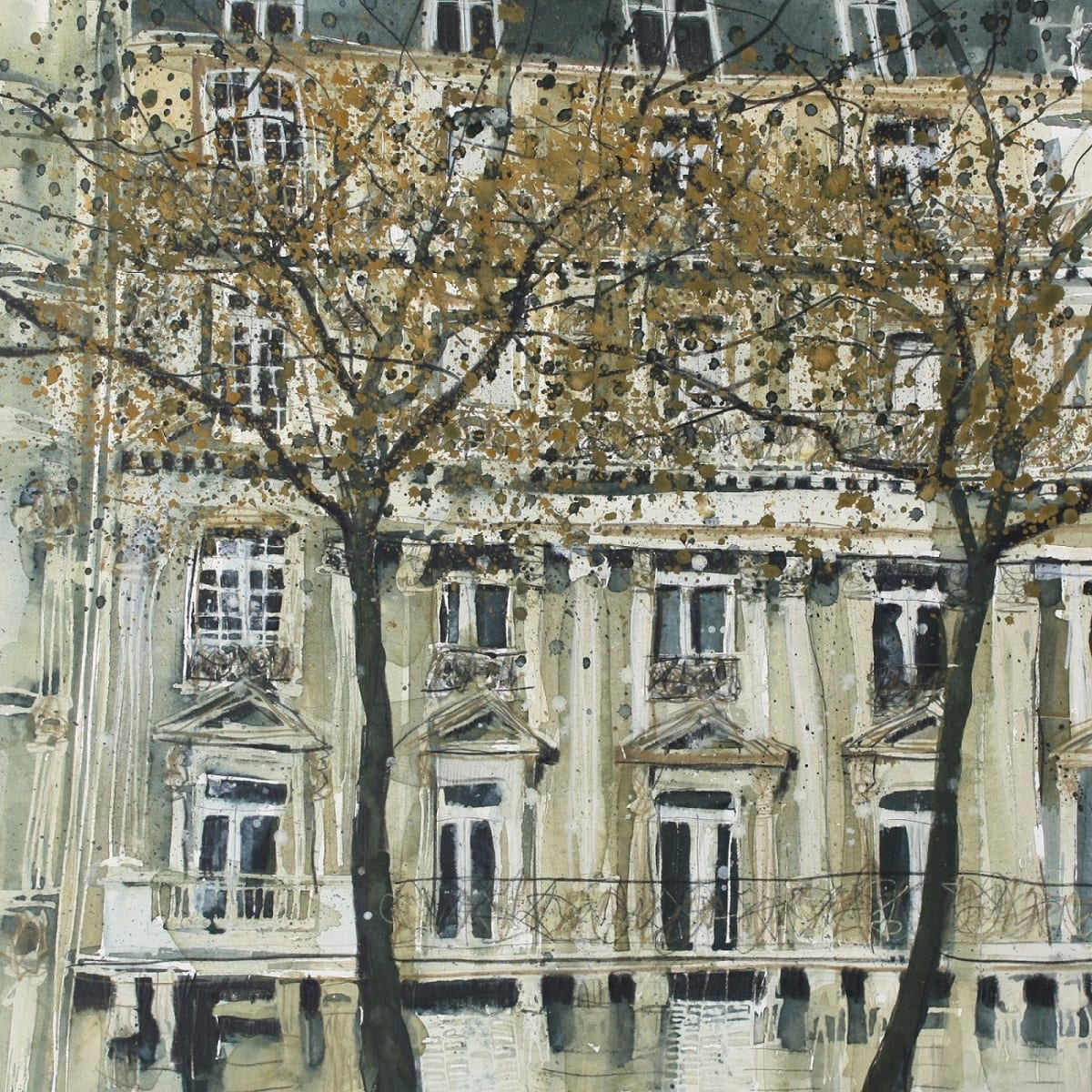 Susan Brown, City Landscape, Paris , 2019