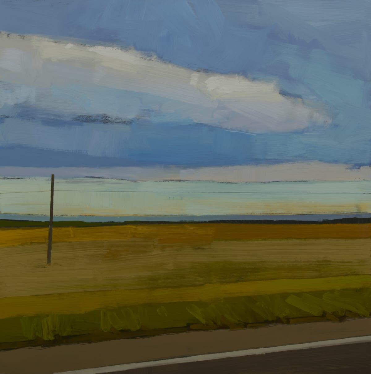 Drew Klassen, View from a highway, Spain