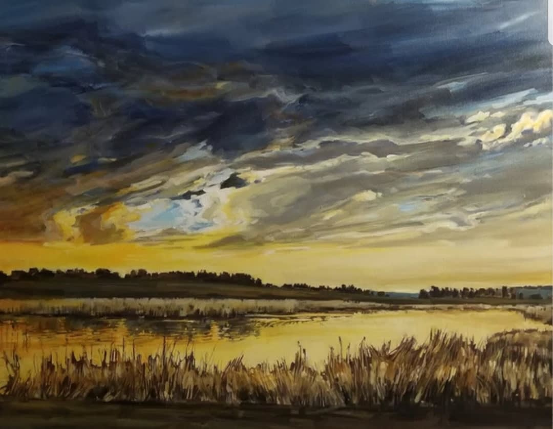 Holly Dyrland, Prairie Glow