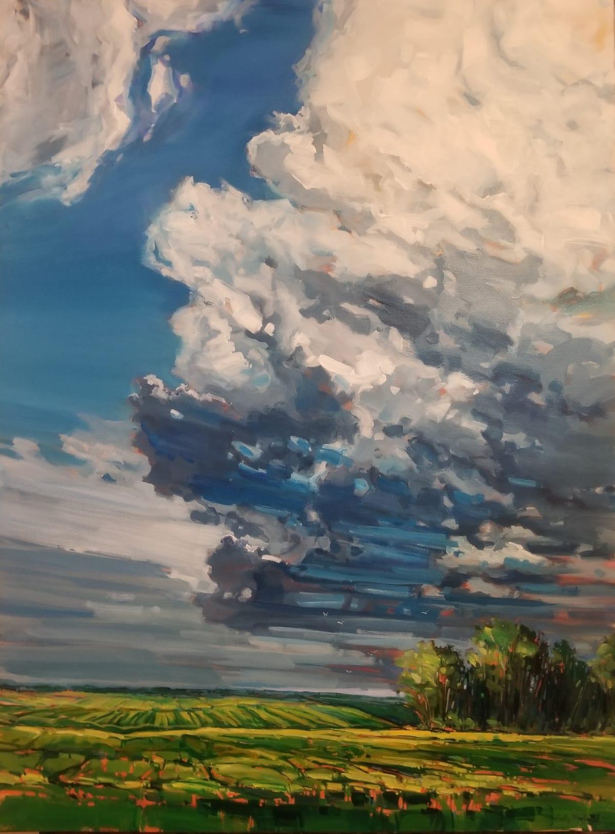Holly Dyrland, July Sky