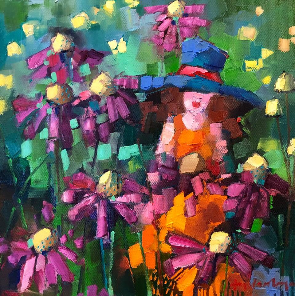 Angela Morgan, Study: the life of the garden