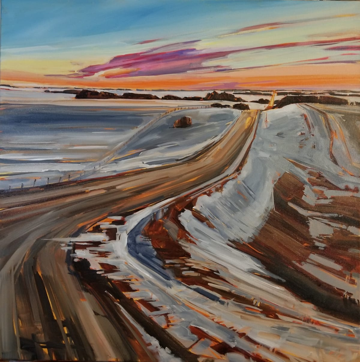 Holly Dyrland, The Open Road