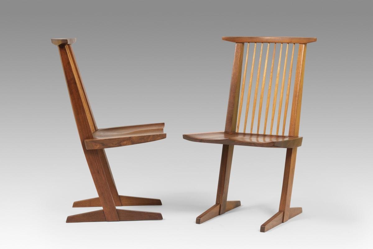 George Nakashima, Set of eight chairs, 1972