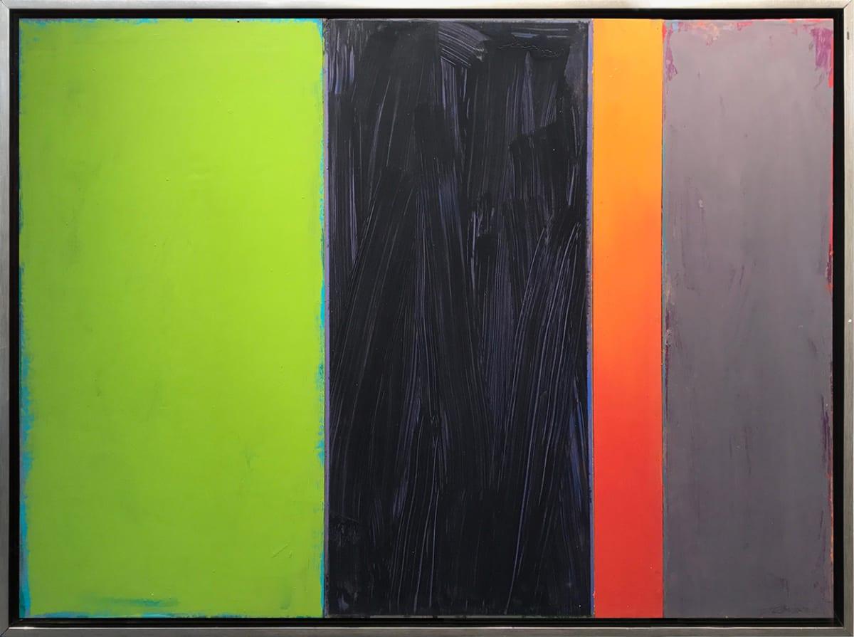 David Rothermel EMERALD LIGHT Acrylic on Wood Panel 38 x 50 in 96.5 x 127 cm