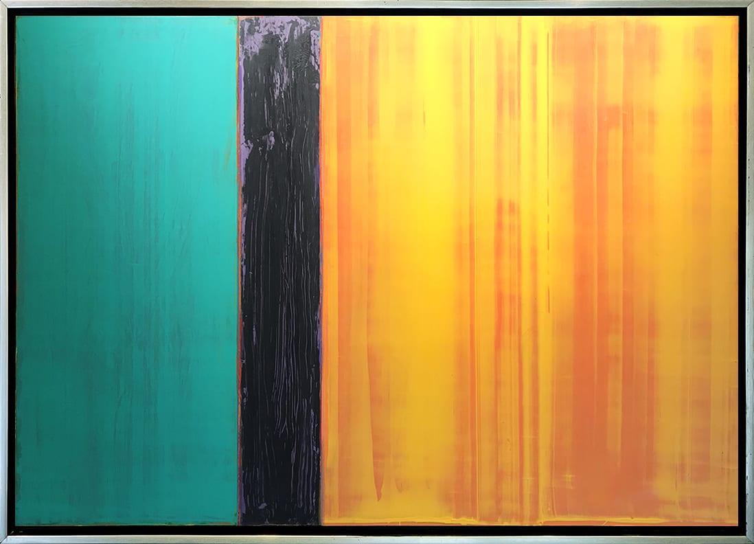David Rothermel SUNSHINE Acrylic on Wood panel 38 x 54 in 96.5 x 137.2 cm