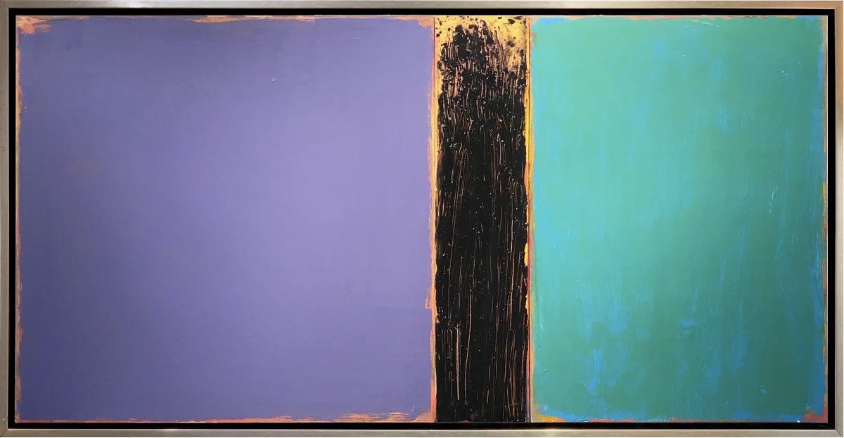 David Rothermel JANUS #8 Acrylic on Wood panel 30 x 56 in 76.2 x 142.2 cm
