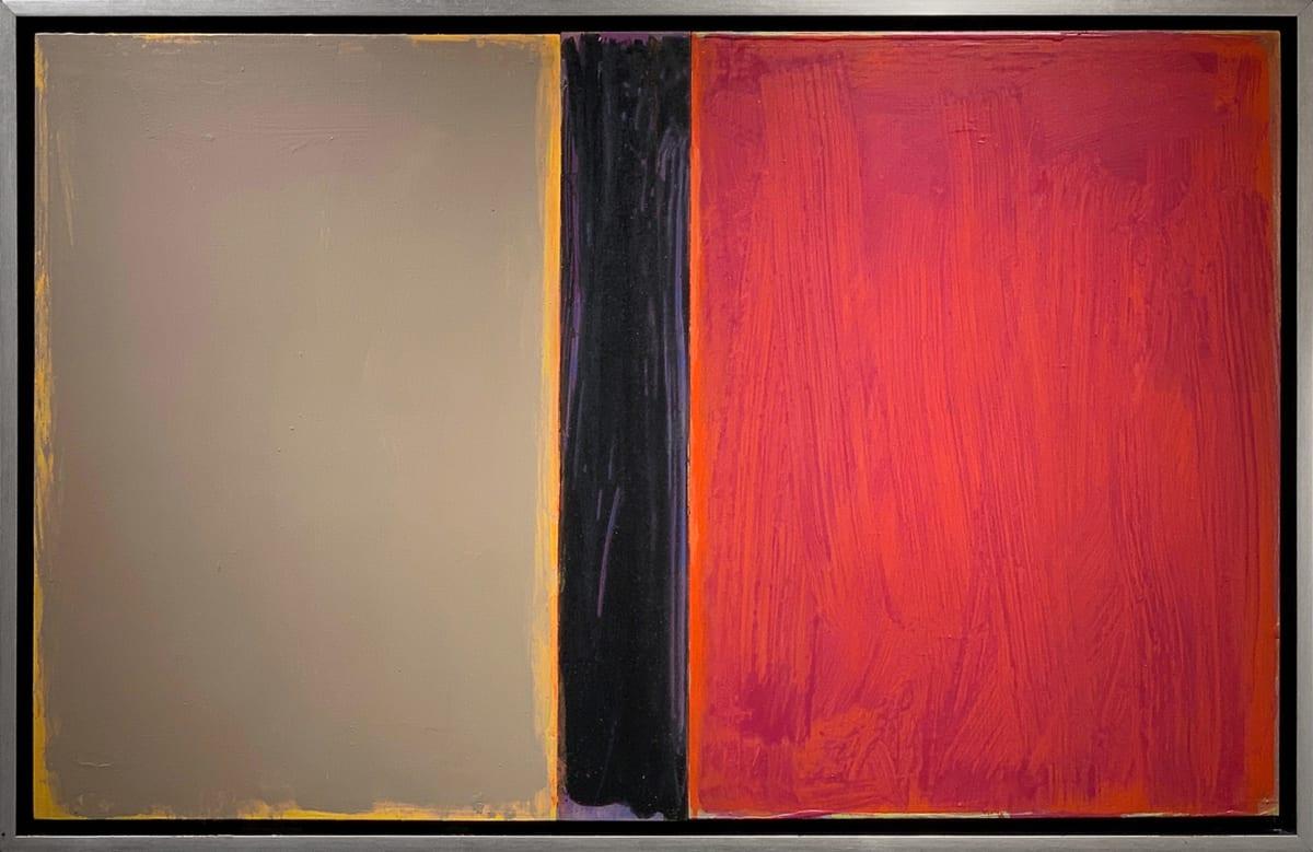 David Rothermel NEXUS #16 Acrylic on Wood Panel 26 x 40 in 66 x 101.6 cm