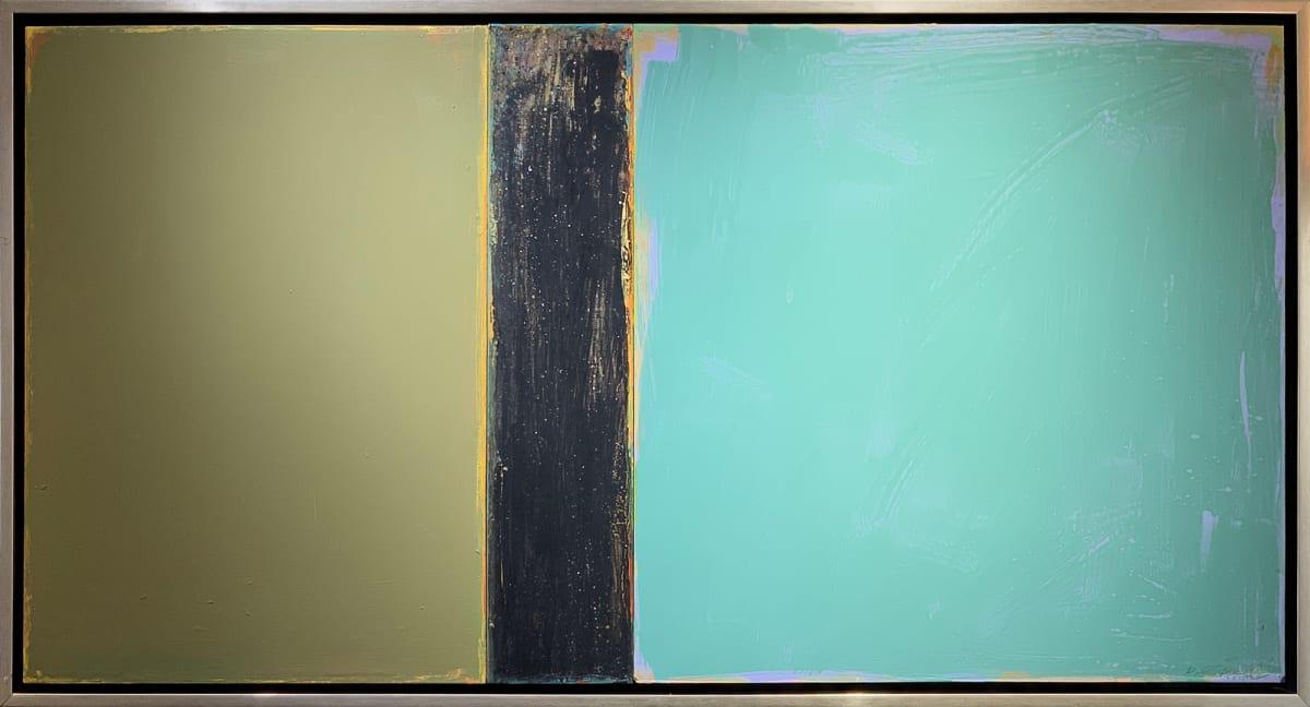 David Rothermel JANUS #7 Acrylic on Wood Panel 30 x 56 in 76.2 x 142.2 cm