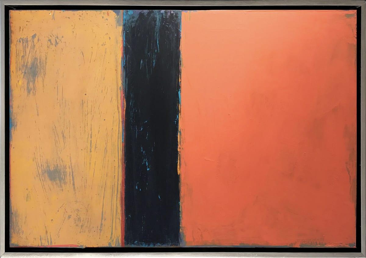 David Rothermel PONCE DE LEON Acrylic On Wood Panel 26 x 38 in 66 x 96.5 cm