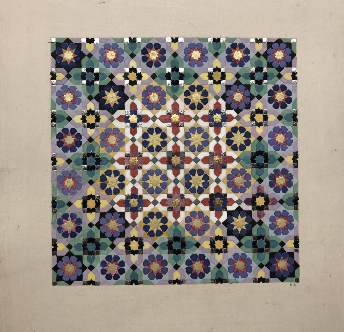 Elisabeth Deane b. 1985Untitled, 2020 Italian gold leaf, platinum leaf, natural pigments and Arabic gum on handmade Indian hemp paper 32 x 21.5 cm 12 5/8 x 8 1/2 in