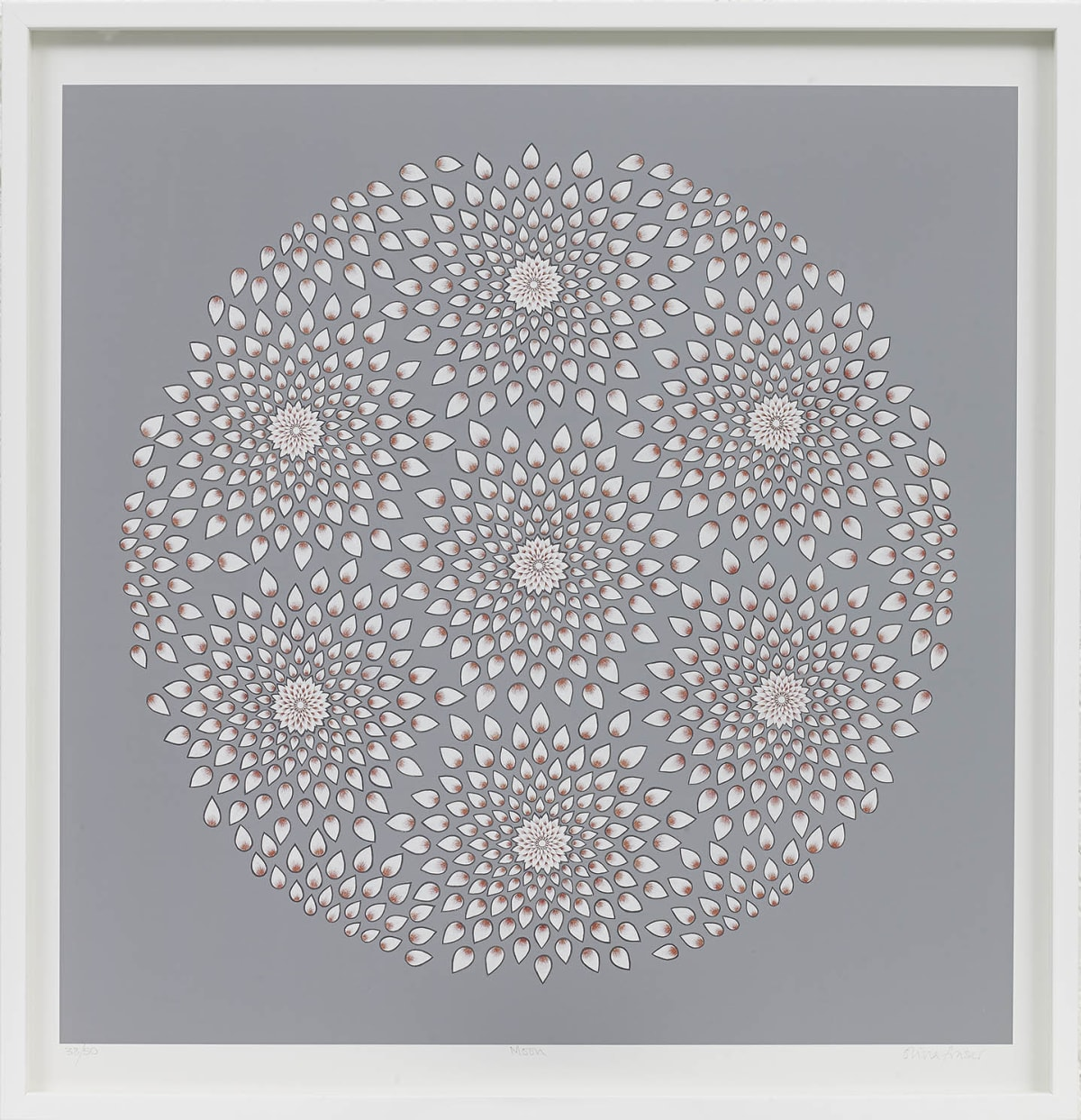 Olivia Fraser b. 1965Moon, 2013 Giclee print on Photo Rag paper 54 x 54 cm 21 1/4 x 21 1/4 in From an edition of 50