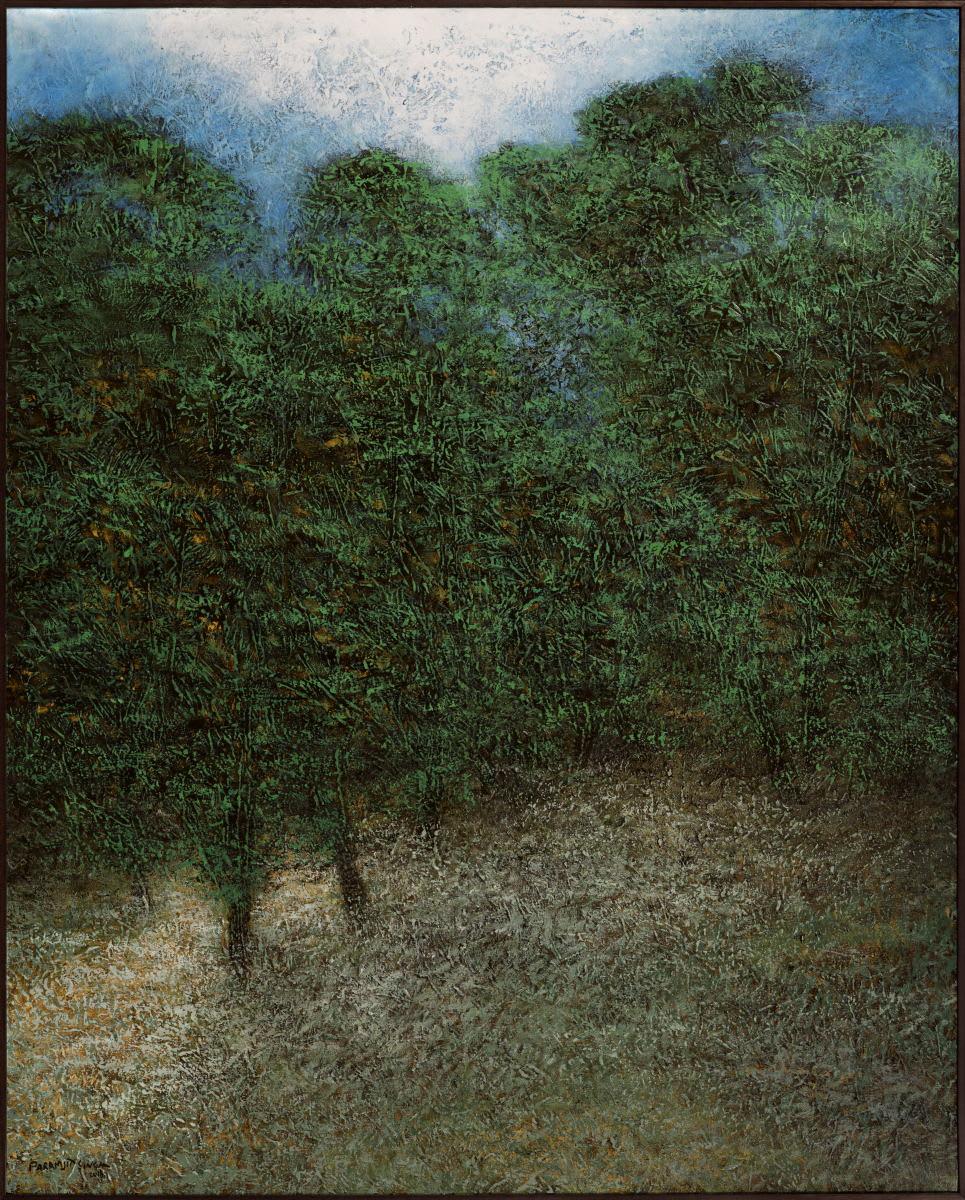 Paramjit Singh b. 1935Untitled, 2016 Oil on canvas 152.4 x 121.9 cm 60 x 48 in
