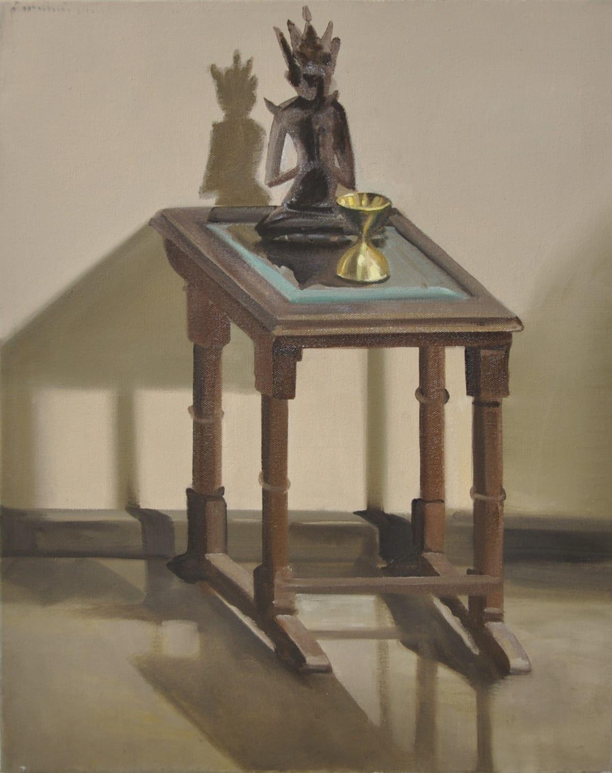 Shibu Natesan b. 1966Subramania Bharati, 2015 Oil on canvas 51 x 40 cm 20 1/8 x 15 3/4 in