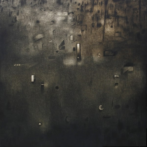 Rameshwar Broota b. 1941Untitled, 2016 Oil on canvas 152.4 x 152.4 cm 60 x 60 in
