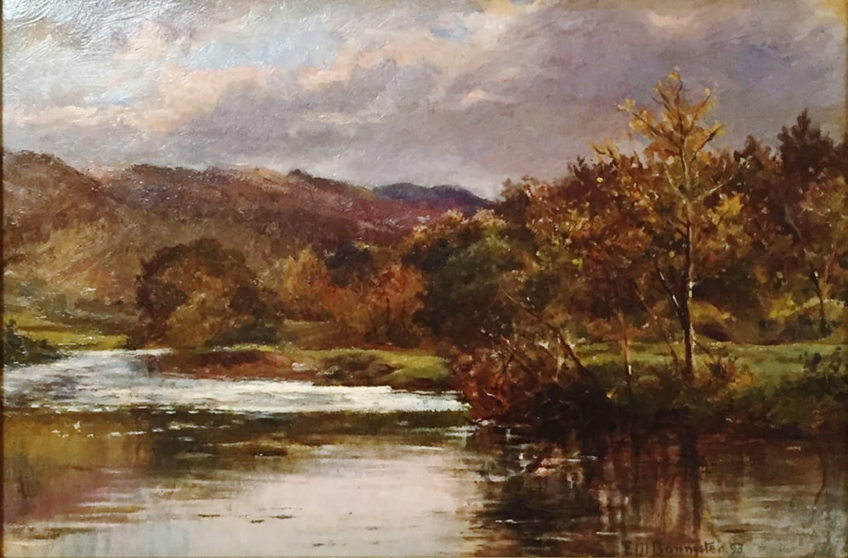 Edward Mitchell Bannister Untitled Landscape, c.1880 Oil on Canvas 10 x 15