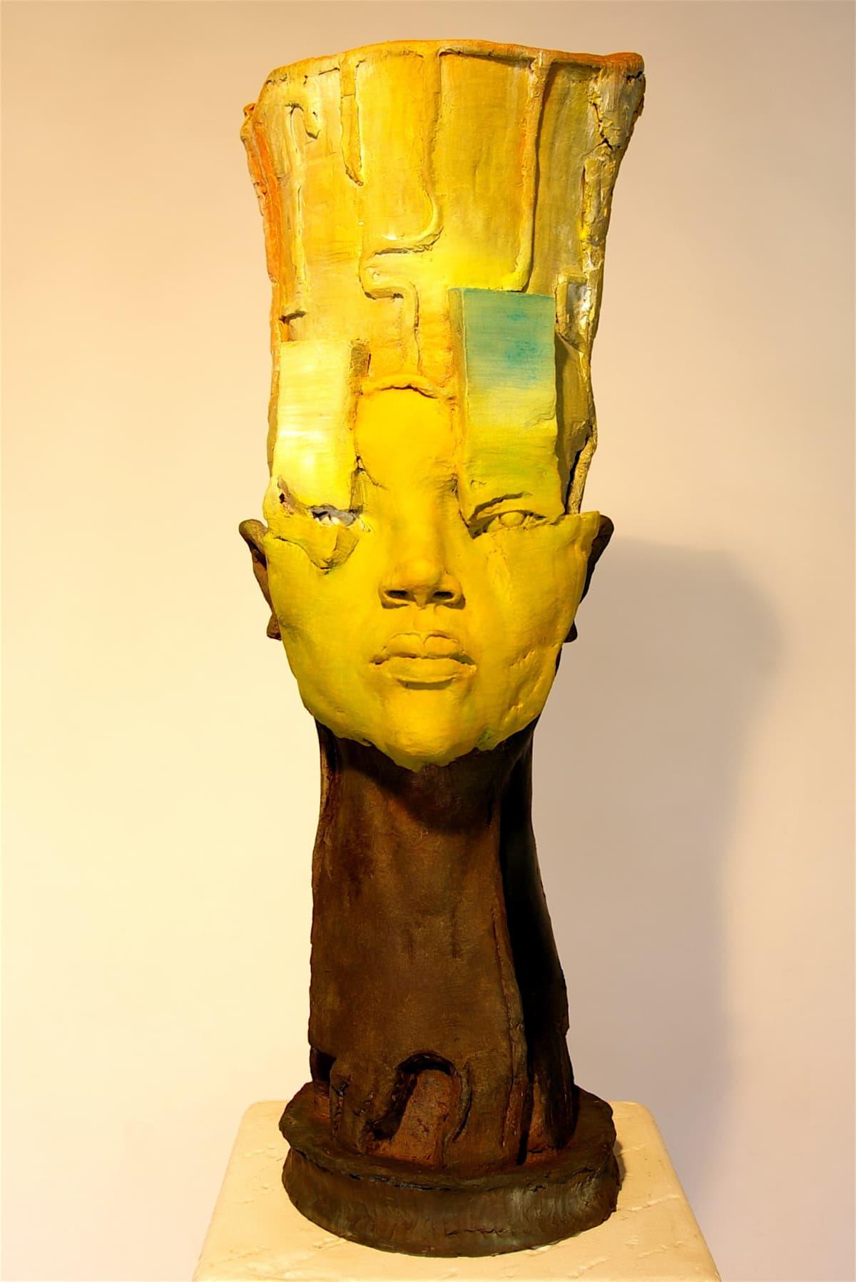 CHUKES A Different Kind of King Fired Clay 30 x 13 x 13