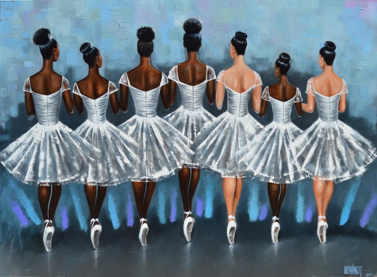 Curtis Gerhardt  Standing Ovation, 2017  Oil on Canvas  36 x 48
