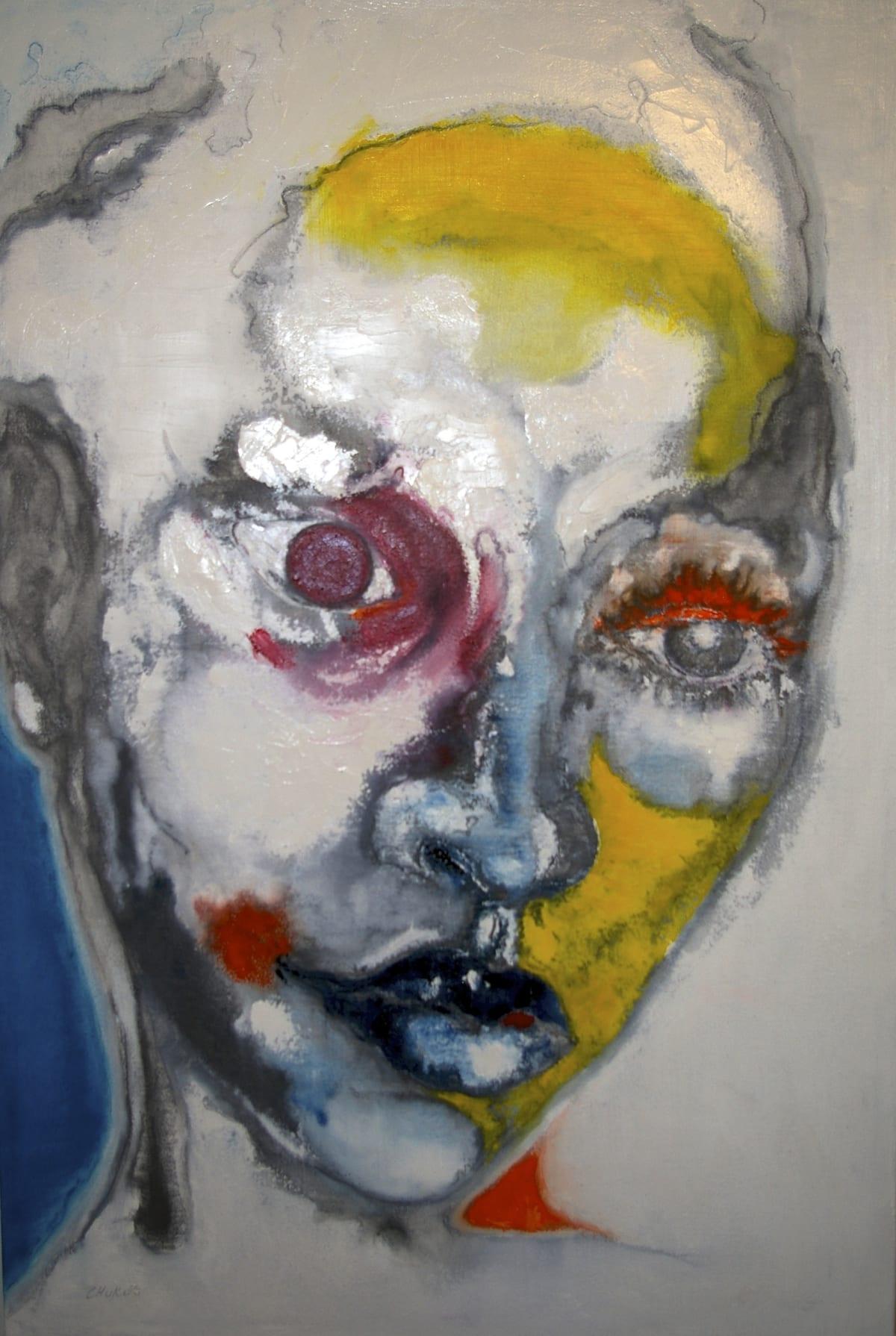 CHUKES LSD. LOVE SING DANCE Oil on Canvas 36 x 24