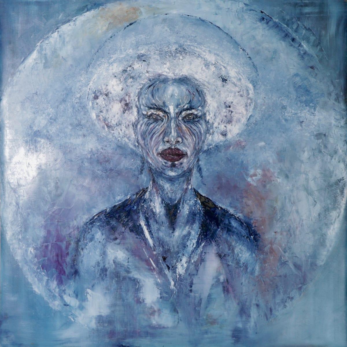CHUKES Timbuktu Oil on Canvas 35 x 35