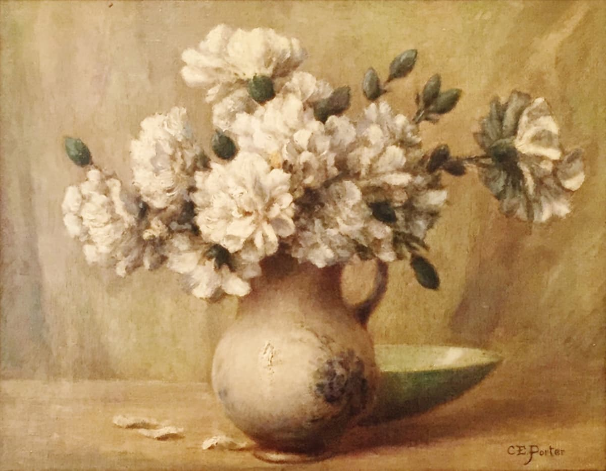 Charles Ethan Porter Still Life with Flowers, c.1880 Oil on Canvas 11 x 14