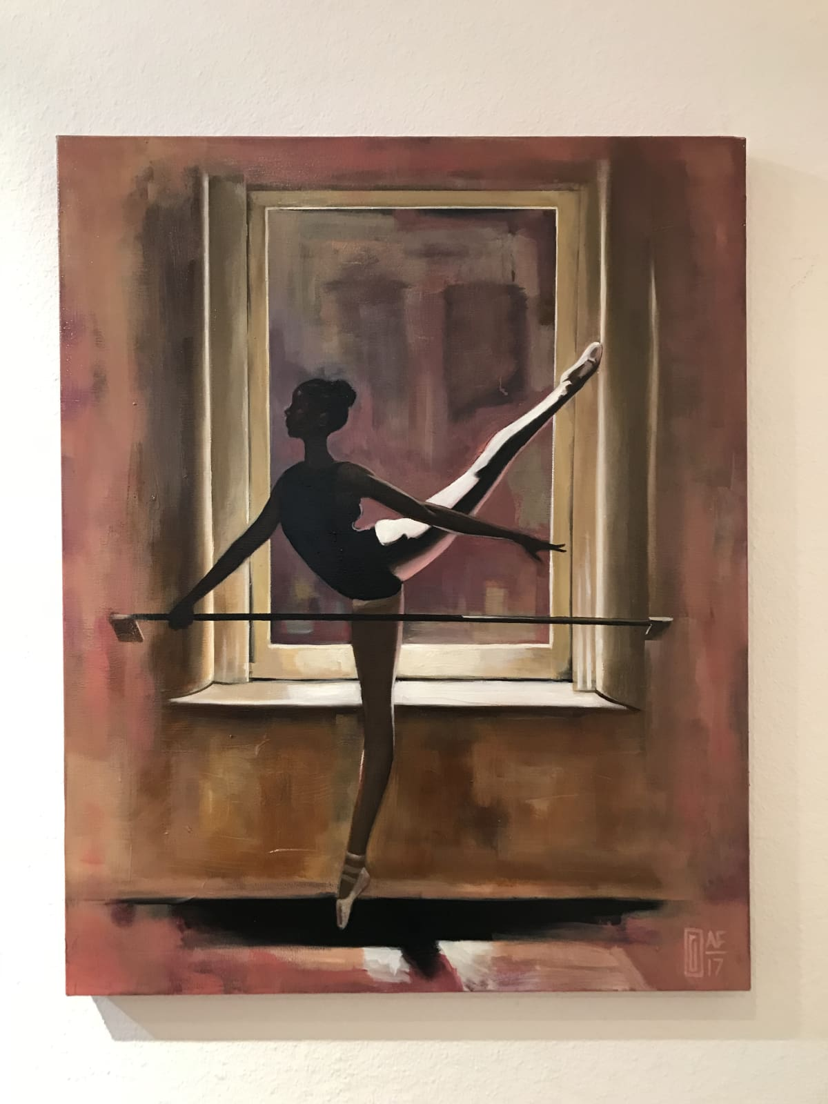 Curtis Gerhardt  Window Dressing  Oil on Canvas  24 x 36