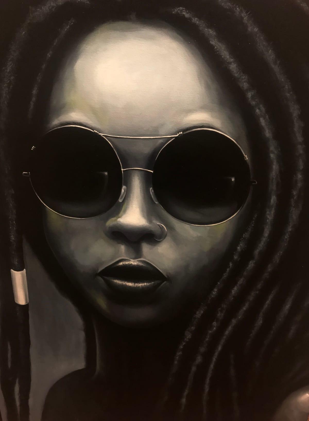 Curtis Gerhardt  Oshun , 2018  Oil on Canvas  36 x 48