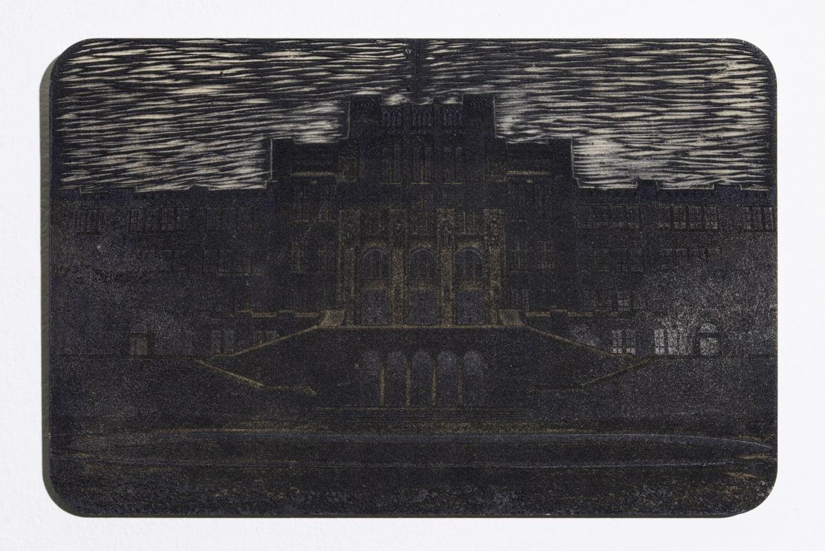 "Jonathan Wright LR 91 Laser Engraved Woodcut Matrix: 17""x 11"""