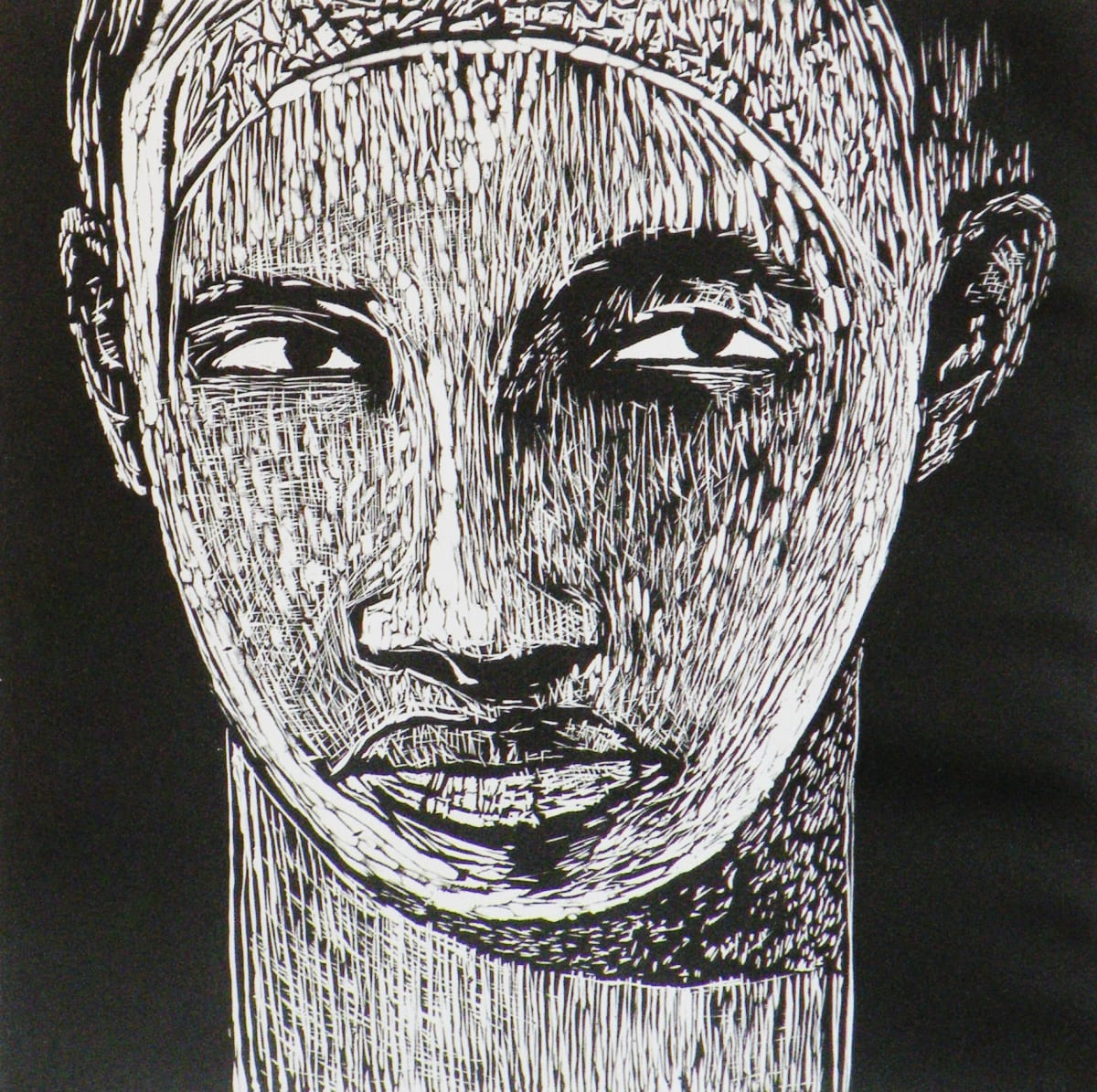 Samella Lewis I See You, 2005 Linocut 25 1/2 x 20 1/2 I See You