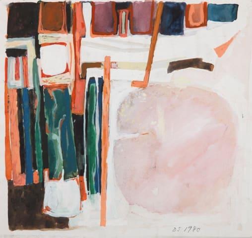 Derek Stafford, Abstraction, 1980