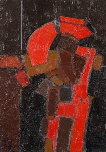 Derek Stafford, Breakwater series IV, 1991