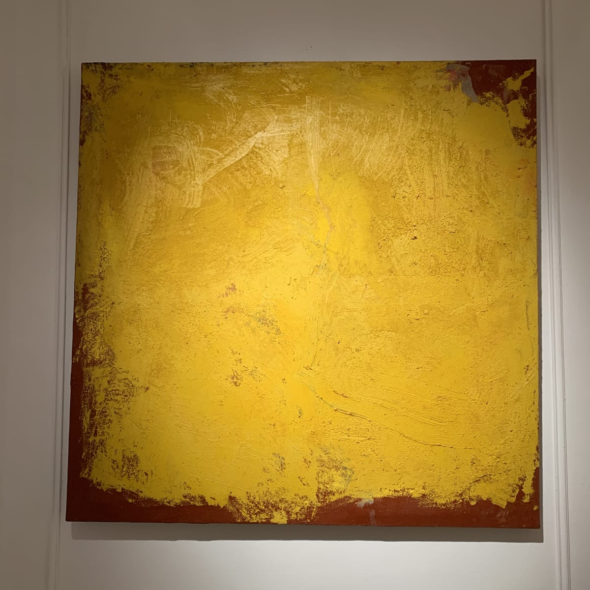 Georges Mathieu Yassef, Yellow Red, 2006