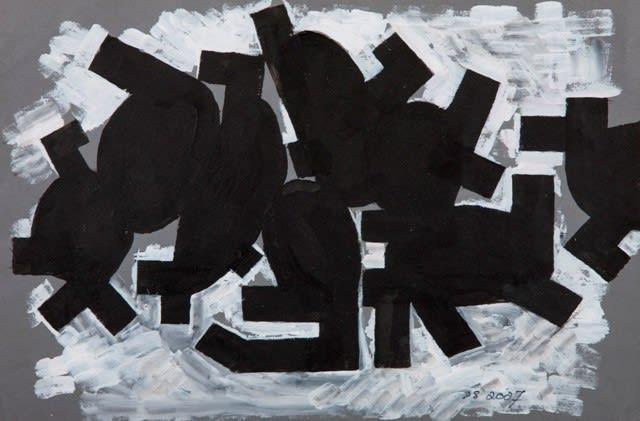 Derek Stafford, Swarm On Water, 2007